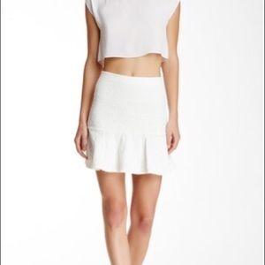Alice + Olivia Lewis Flounce Skirt